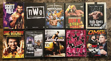 FREE SHIPPING! Lot Collection of 10 Different Wrestling WWE WCW Box Set DVDs
