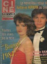 CINE REVUE 1983 n°52 katharine hepburn guy lux billy wilder natalie wood collaro