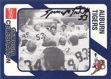SPENCE McCRACKEN Autographed Signed 1989 card # 171 Auburn Tigers COA