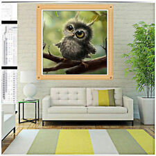 5D Owl Mosaic Resin DIY Diamond Painting Cross Stitch Embroidery Home Decoration