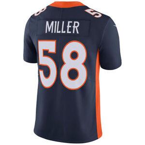 Denver Broncos Von Miller Navy Vapor Untouchable Limited Player Jersey Large