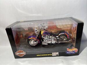 Hot Wheels 1999 Harley Davidson Softail 1:10 Scale Diecast Motorcycle 29063