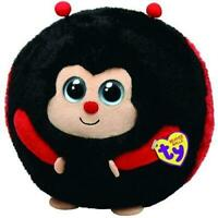 TY Beanie Ballz Dots The Ladybug Medium Plush Soft Toy
