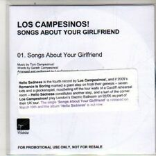 (DB43) Los Campesinos! Songs About Your Girlfriend - 2012 DJ CD