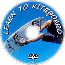 KITEBOARDING BEGINNERS EXPERTS GUIDE KITESURFING LESSONS  NEW KITEBOARD DVD