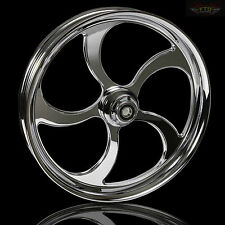"Harley Davidson Road Glide 21"" Inch Chrome front Wheel ""The Maze"" Harley wheels"