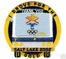 2002 WINTER OLYMPIC UTAH BUS DRIVER'S COMMEMORATE PATCH