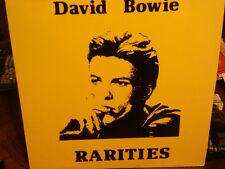 """david bowie""""rarities studio/live""""de1966 à1980"""".double lp.promo.uk.rare"""