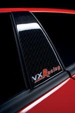 VAUXHALL ASTRA H VXR RACING FRONT DOOR PILLAR STYLING DECAL SET GENUINE NEW