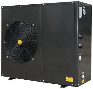 8.4 bis 14.8kW Luft Wasser Wärmepumpe, 1Phasen 230V, COPELAND Kompressor! R410A!