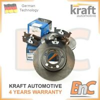 GENUINE KRAFT HEAVY DUTY FRONT BRAKE DISCS & PADS SET SKODA FABIA II II VW FOX
