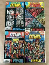 Tales Of The Teen Titans #42 43 44 & Annual 3 NM SET 1st Nightwing! DC Comics