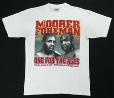Rare VTG HBO George Foreman One For The Ages 1994 Vs Moorer T Shirt 90s Boxing L