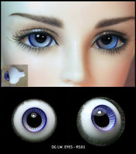 16mm two shade of violet high quality glass bjd doll eyes dollfie RS-01 ShipUS
