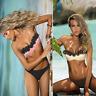 2Pcs Sexy Women Push-up Padded Bikini Set Swimsuit Bandage Swimwear Bathing Suit