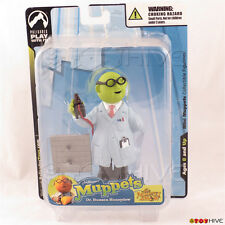 Muppets mini Bunsen Honeydew collectible figurine by Palisades Toys - dented box