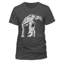 Official Star Wars 8 the Last Jedi Guerrilla Walker T-shirt Grey S M L XL