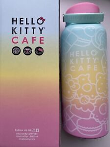 hello kitty cafe water bottle 32 oz. NEW IN BOX.
