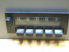 HECON 5 DIGIT MANUAL COUNTER 110V AC , A6860003