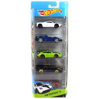 Hot Wheels HW EXOTICS 1:64 Scale Diecast Vehicle 5-Pack Cars (CDT27) by Mattel