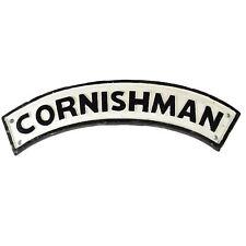 Cornishman Cast Iron Sign Plaque Door Wall House Fence Gate Post Garden