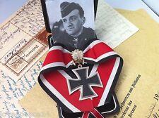 WW2 WWII WH Rudel Officer Knights Iron Cross Golden Oakleaves Swords Diamonds