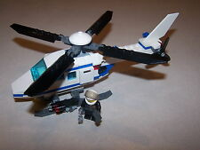 Lego 7741 Police Helicopter City Town 100% Complete FREE SHIPPING