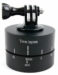 Rotating Time Lapse Tripod Adapter for Kodak PixPro SP360 Action Camera