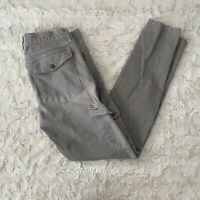 Current Elliott The Skinny Cargo Mineral Python Print Jeans Size 30