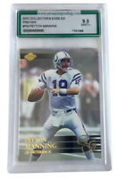 2000 Collector's Edge EG Preview #PM Peyton Manning AGS 9.5 Indianapolis Colts