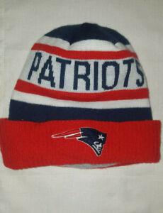 New England Patriots NFL Football New Era Knit Winter Hat