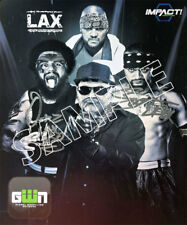 Officiel TNA Impact Wrestling-Impact 2018 main signé Lax 8x10