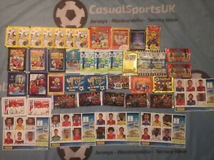 Job Lot of X 43 Football Sticker / Card Packets (Merlin Topps Panini) World Cup