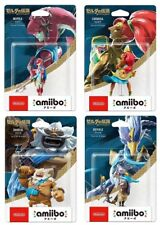 Nintendo Amiibo Set Zelda Breath of the Wild Daruk Revali Mipha Urbosa Japan