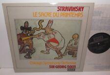 SXL 6691 Stravinsky Le Sacre Du Printemps Chicago Symphony Orchestra Solti TAS