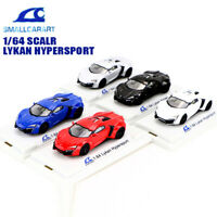 SmallCarArt 1:64 Lykan Hypersport Diecast Display Sport Car Model Collection