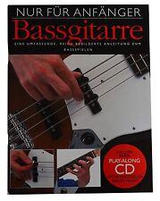 BASSSCHULE mit CD für Akustik und E-Bässe, Bosworth für Anfänger (Gitarre)!! BO8