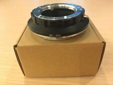 New Breguetcamera Adapter For Minolta MD lens to Fujifilm GFX body  MD-GFX