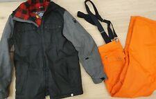RIDE Ski Jacket 10k and Dare 2 B Ski Pants Sizes M Loose Fit