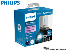 PHILIPS D1S 6000K Pure White Ultinon 85410WXX2 HID Xenon BULBS Germany 35W PAIR