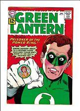 """GREEN LANTERN #10  [1962 VG+]  """"PRISONER OF THE POWER RING!"""""""