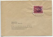 Lokal Fredersdorf 26 als Einzelfrankatur auf Brief nach Spremberg (B06902)
