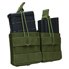 VISM OD GREEN Tactical MOLLE PALS AR10/M1A/FAL .308/7.62X51 Dual Mag Pouch