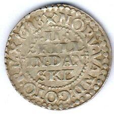 Dänemark Christian IV. (1588-1648) II Skilling 1618 KM#16.2, ss/vz - selten