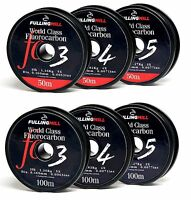 Fulling Mill World Class Fluorocarbon Fishing Line 50m or 100m 4lb - 12lb Fluoro