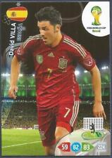 PANINI ADRENALYN XL FIFA WORLD CUP BRAZIL 2014-SPAIN-DAVID VILLA