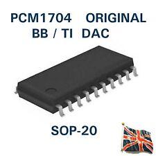 PCM1704 IC DAC 24BIT 96kHz bb/TI SOP-20 SMD Reino Unido stock Burr Brown