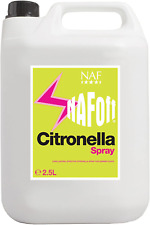 NAF OFF CITRONELLA - 2.5 LT REFILL - Highly Scented Mane Tail And Coat Spray UK