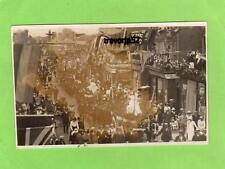 High Street Crawley Carnival Peace Celebrations ? RP pc used 1919 Ref B397