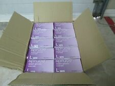 1 Case of Spruce Large Latex Powder Free Gloves by Medline Lightly Textured